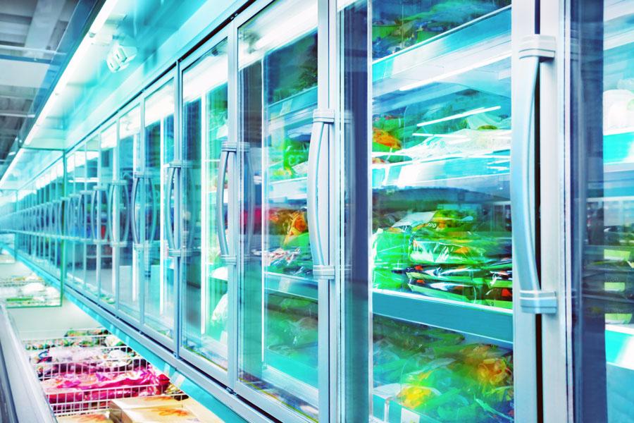Kältetechnik im Supermarkt mit Kälte Kurz